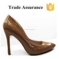 best selling trendy sexy waterproof high heel shoes for ladise