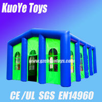 green inflatable tents for sale