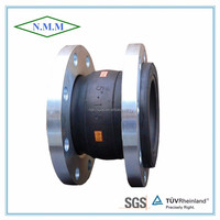 Rubber Expansion Joint Flanged pipe ends