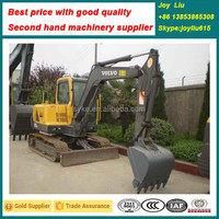 Used excavator---V olvo EC55B---used road construction machine
