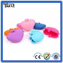 High quality Silicone Rubber Silica gel Purse/silicone coin bag zero purse/Environmental silicone card wallet