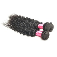 100% Kinky Curly Brazilian Virgin Remy Human Hair Extension/We Long 16 Inch Hair Extensions