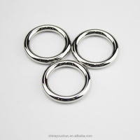 China Factory Silver Large Metal Ring