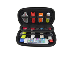 PU Leather EVA Waterproof HDD Hard Drives Pouch