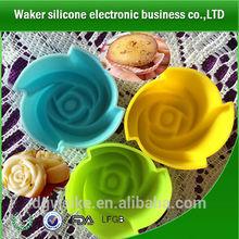 Molde para hornear/de hornear de silicona del molde/de silicona del molde de la torta