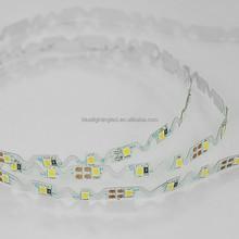 8mm width smd2835 bendable led strip 60leds/meter