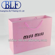 (BLF-PB141)paper grocery bags with handles