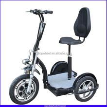 Topwheel China Big Rear Wheels 500W motor Electric Three wheel Scooter