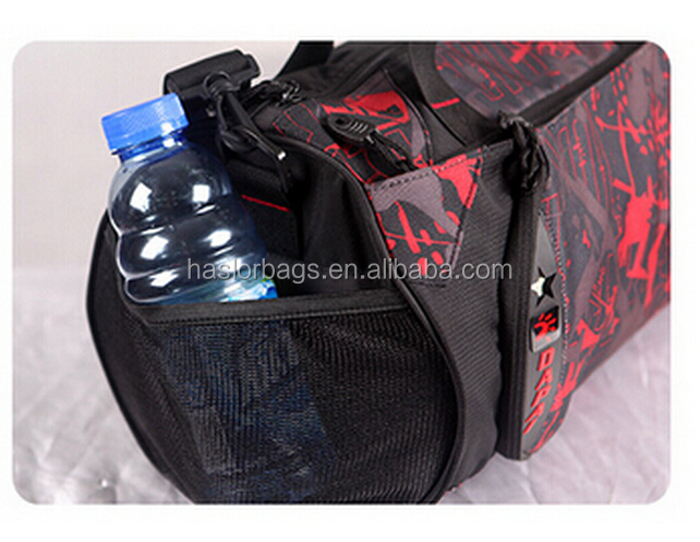 Sport de voyage ronde sac avec chaussures compartiment