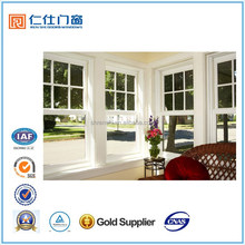 Renshi brand good viewing experience aluminum top hung sliding window
