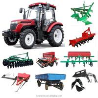 champignon farm tractor TS554 with hydraulic steering PTO 55HP 4x4