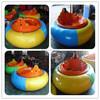 Amusement park equipment round UFO bumper car for sale