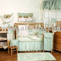 Turqoise Trendy Boutique Girl Baby Bedding Crib Sets Nursery Decor Furniture