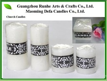 Paraffin Wax Candles for Church, Wedding, Party, Home, Garden, Ramadan