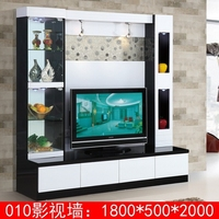 New arrival modern tv stand wall units designs 010# lcd tv unit furniture