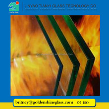 Jinyao safety gas fire glass
