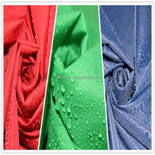 oil cire downproof nylon waterproof fabric
