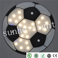 High power 15W 25W led football ceiling light 4inch 8inch Round round led ceiling light