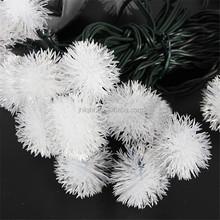 Popular 20 LED indoor snowball Christmas Festival Season decorative lights