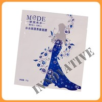 individual plastic bag facial mask packaging