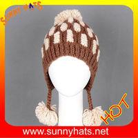 Hot sale handmade crochet hat patterns for girls