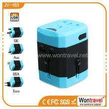 JY-163 Wholesale travel adapter/ global universal adapter plug cell phone charger