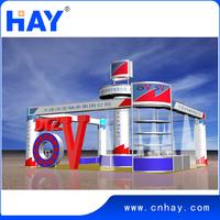 Fashionable design good quality Modular Aluminum trade show booth