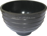 1.5L recycled Tyre rubber bucket&painting bowl