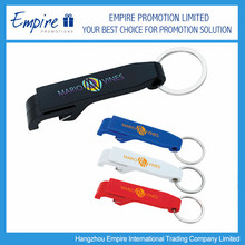 Functional Bright Colored Promotional Plastic Bottle Opener