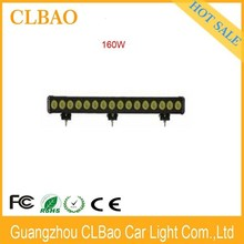 Chinese motorcycle accessory led lighting waterproof 10w/pcs offroad led strip light 160w led light bar