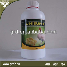 UNISUPER Multivitamin Oral Liquid for Strong Immunity of Cattle Horse Pig