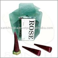 Fragrance Incense cone in a PVC packing