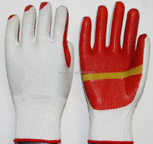 rubber coated safety work gloves /labor protection gloves with high quality China wholesale supplier