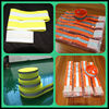 high light colorful sports running stretch safety reflective armband for students