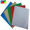 silver glitter cardstock paper/glitter cardboard