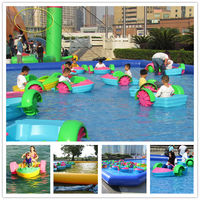 Low price popular colorful attraction used paddle boat sale,thames river cruise