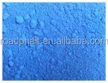 Pigment Blue powder, color road , cold/ warm/hot mix way add dye pigment