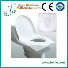 disposable hygienic toilet seat covers for travel.airplane use