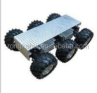 New educational robot 6WD wild thumper chassis