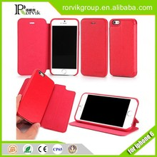 4.7 / 5.5 inch 2 in 1 Book Style PU Leather Cover Magnetic Phone Case Flip Leather Case For iPhone 6 / 6 Plus