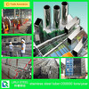 stainless steel square pipe/tube aisi201 202 304 316 430 polished 600 grit welded factory