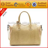 2014 new product fashion lady hand bag leather italy handbag brands