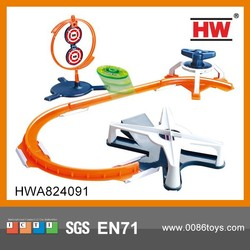 Railway Toy With Spinning Top and Rail Funny Toys For Chindren