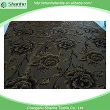 Newest best velvet gllitter fabric for sofa changshu manufacturer egypt market