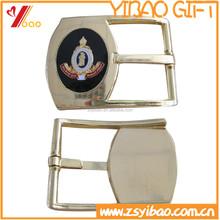 High class customized logo golden plated belt buckle