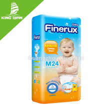 Baby age group OEM disposable sleepy baby diaper with non woven fabric munufacturer of baby diaper in guangzhou