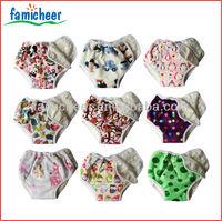 2014 Famicheer Bamboo SNAP-ON Training Pants,Potty Training Kit