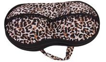 Leopard Portable Bra Storage Bag Female Underwear Pouch With Zip Organizer Bag