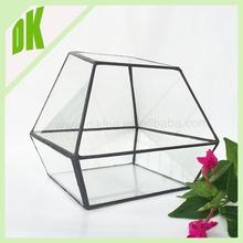 2015 ~~ MOQ:1 PCS Price: Factory price ~~ wholesale Geometric Glass Drum Style Fish Bowl