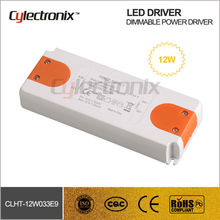 12W Waterproof Dimmable LED Power Driver